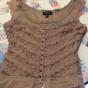 Bebe corset top.